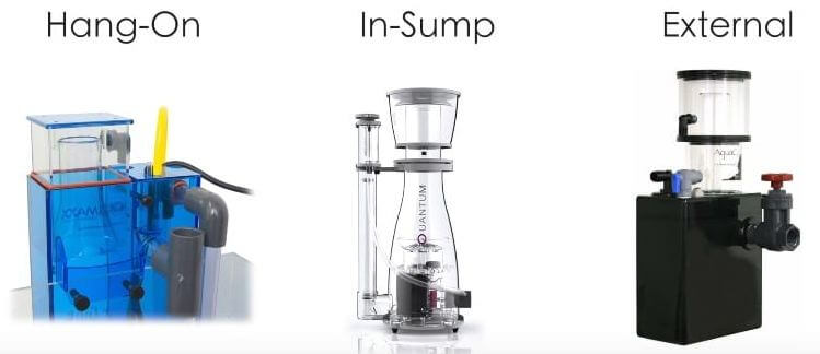 Types of Protein Skimmer Setups