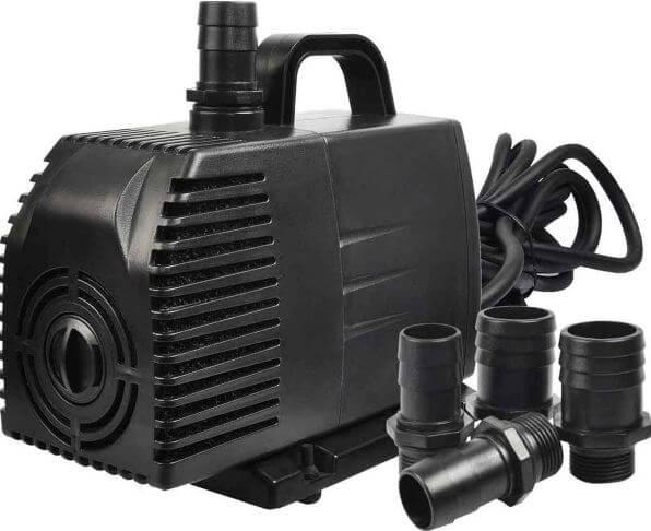 4) Simple Deluxe Water Pump