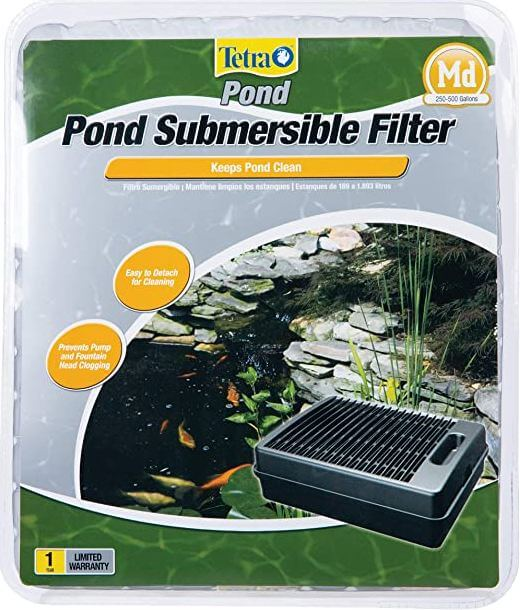 8) TetraPond Submersible Filter