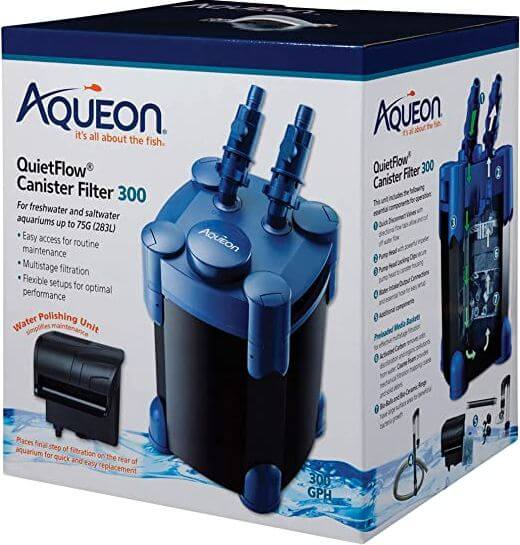 9) Aqueon Canister Filter