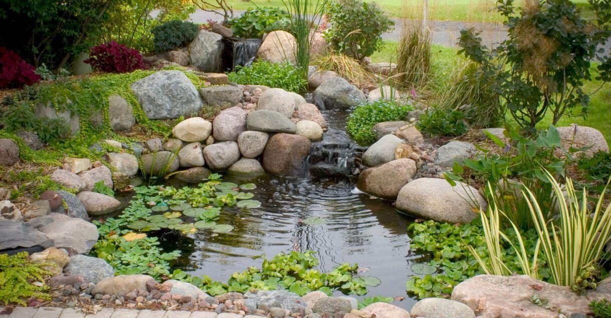 large pond filtration system