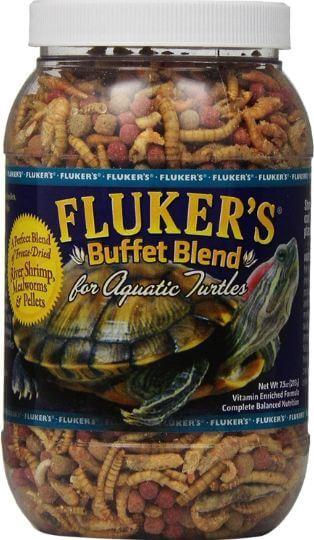 1) Fluker's Buffet Blend Aquatic Turtle Food