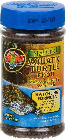 2) Zoo Med Natural Turtle Food
