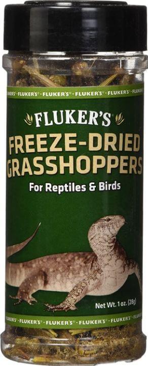 6) Fluker's Dried Grasshoppers