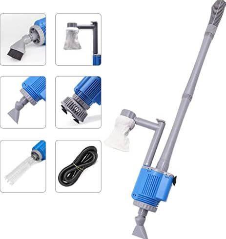 7) Boxtech Electric Aquarium Cleaner Vacuum
