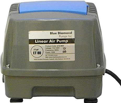 8) Blue Diamond Air Pump