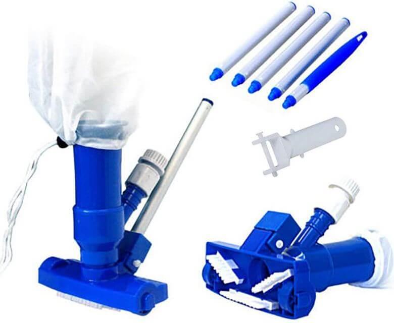 8) PoolSupplyTown Pool Spa Jet Vacuum Cleaner