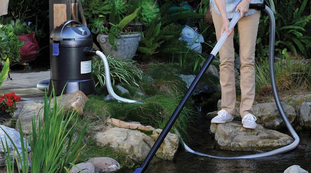 pond vacuum review