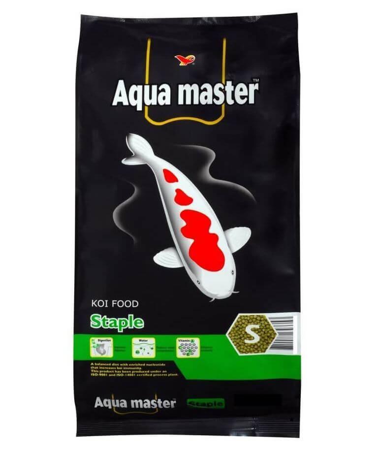 10) Aqua Master Staple Fish Food