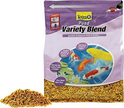 4) TetraPond Blend Fish Food